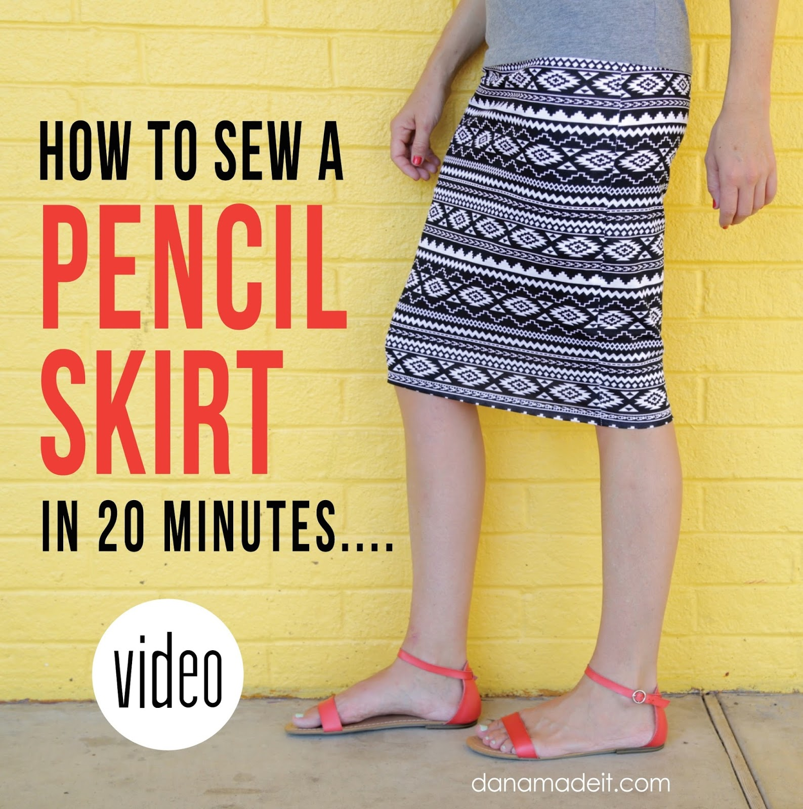 Knit pencil skirt made everyday you could sew a really awesome pencil skirt and all your friends will think it came from their favorite store because its gonna be all professional and jeuxipadfo Image collections