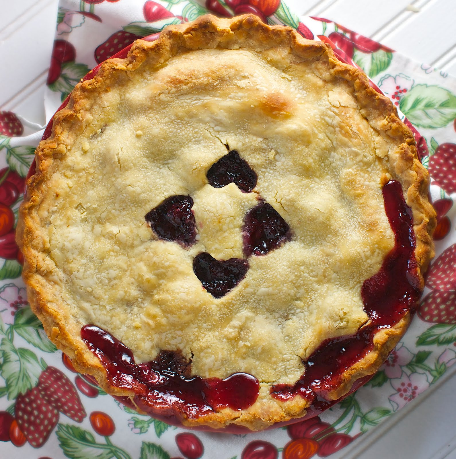 Michigan Cherry Pie: Dairy & Egg-Free, Vegan | www.speedbumpkitchen.com