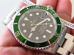 "ROLEX GREEN SUBMARINER ""KERMIT"" - ROLEX 16610 - SERIE Z YEAR 2007 - FULLSET - MINTS CONDITION"