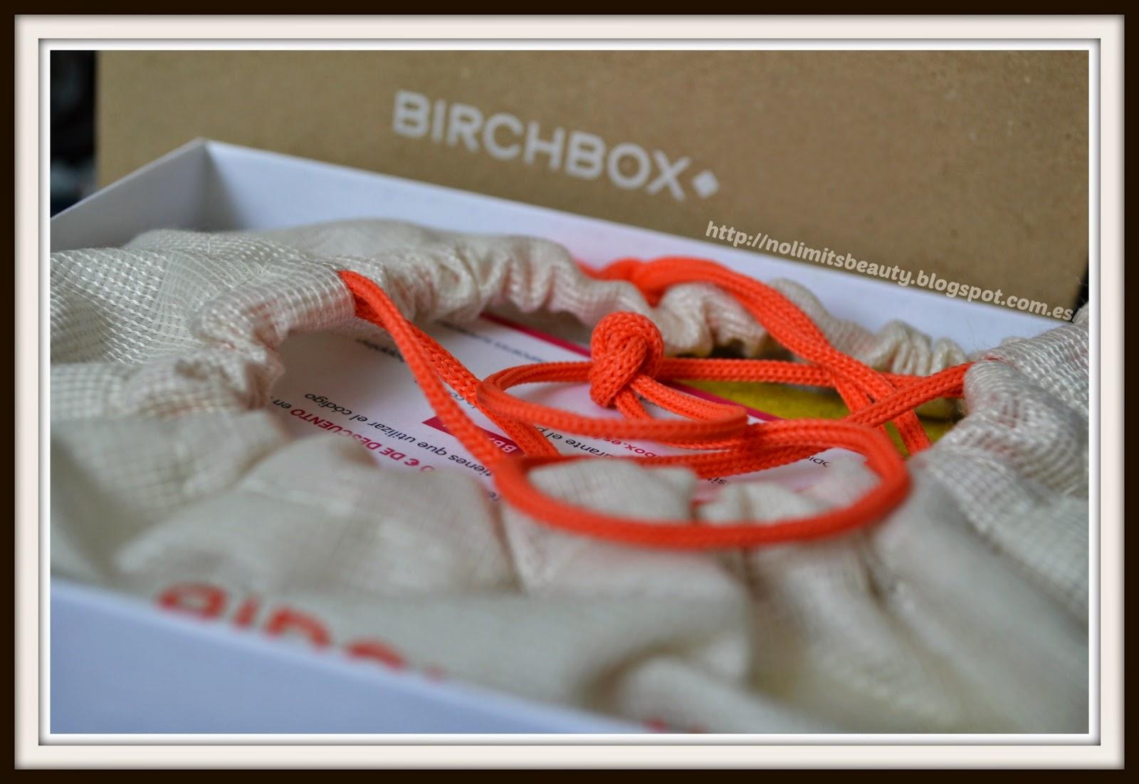 BirchBox Abril 2014: detalle