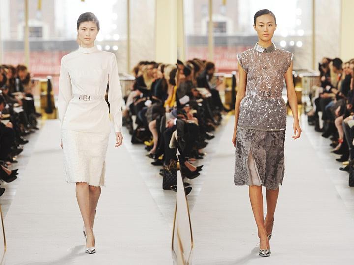 Models  Sui He (New York)   Shu Pei (Next) Designer  Philosophy di Alberta  Ferretti 683e45b6b