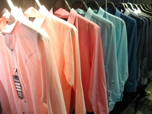3Star Clothing Launching | Pastel Button-Down | Fashion by Chris Jasler