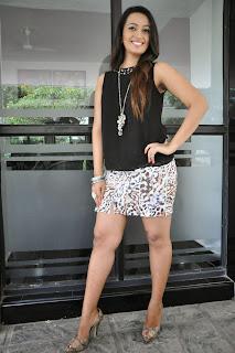 Actress Ester Noronha  Pictures at Jalsarayudu Movie Launch Event 002.jpg