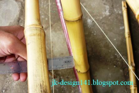 Jatikusuma design step by step membuat sepeda semi bambu for Semi di bambu