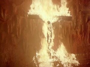 Hay muchas escenas sacrilegas en la cinta mexicana Alucarda