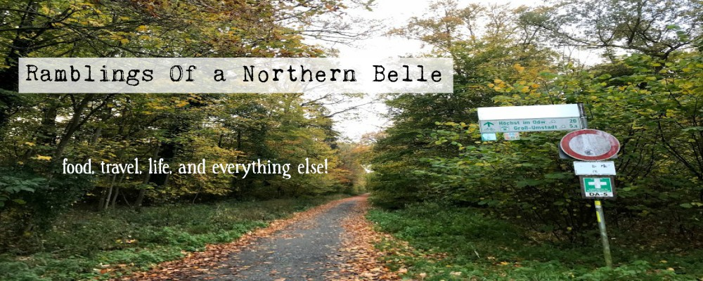 Ramblings of a Northern Belle
