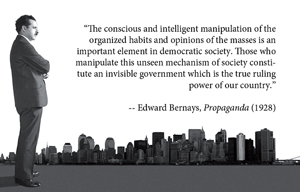 Archangelic Queens of Heaven and the United States of the Solar System - Page 37 Bernays+Quote