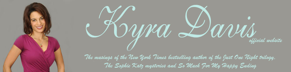 Author Kyra Davis official website