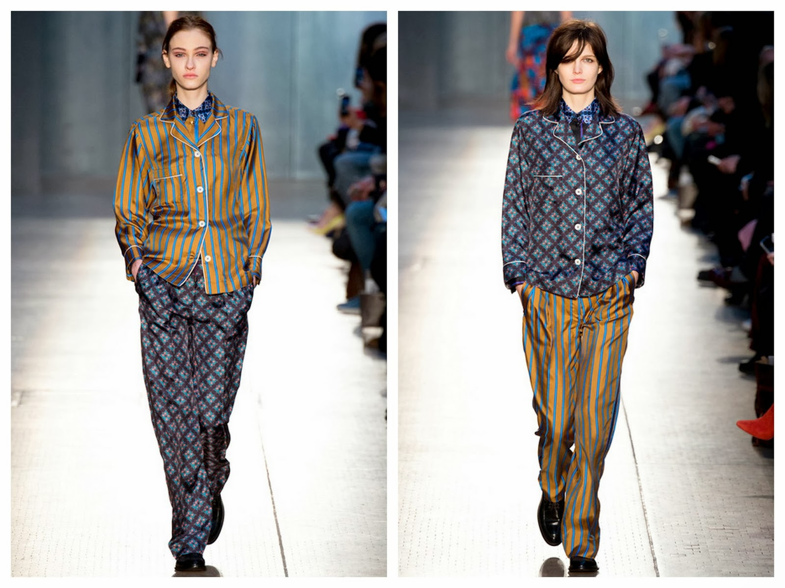 paul smith,pyjama,soie,hiver 2014,fall 2014,londres,london fashion week