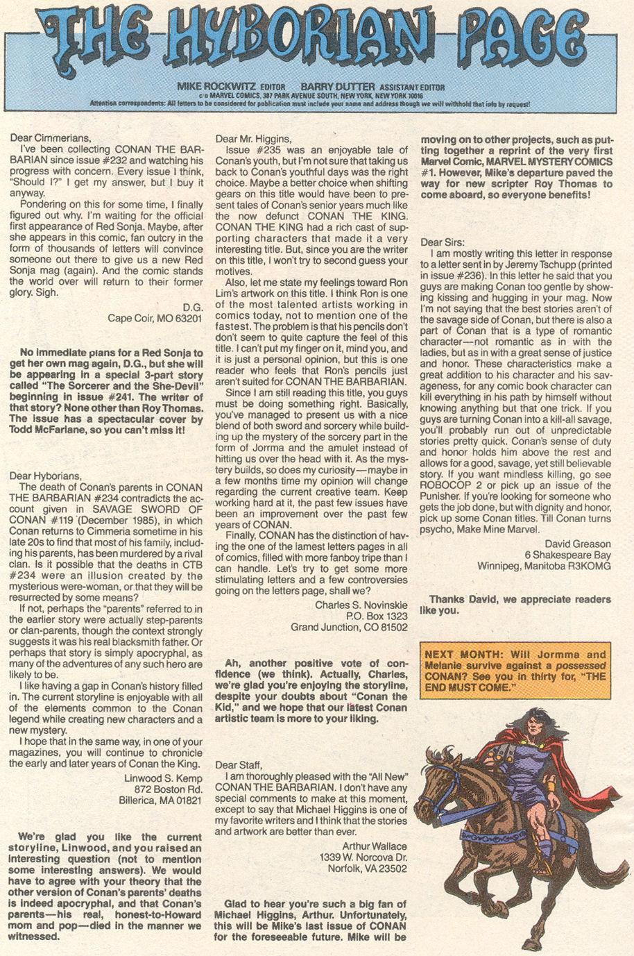 Conan the Barbarian (1970) Issue #239 #251 - English 24