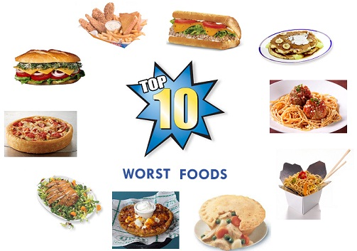 Worst Fast Food Meals