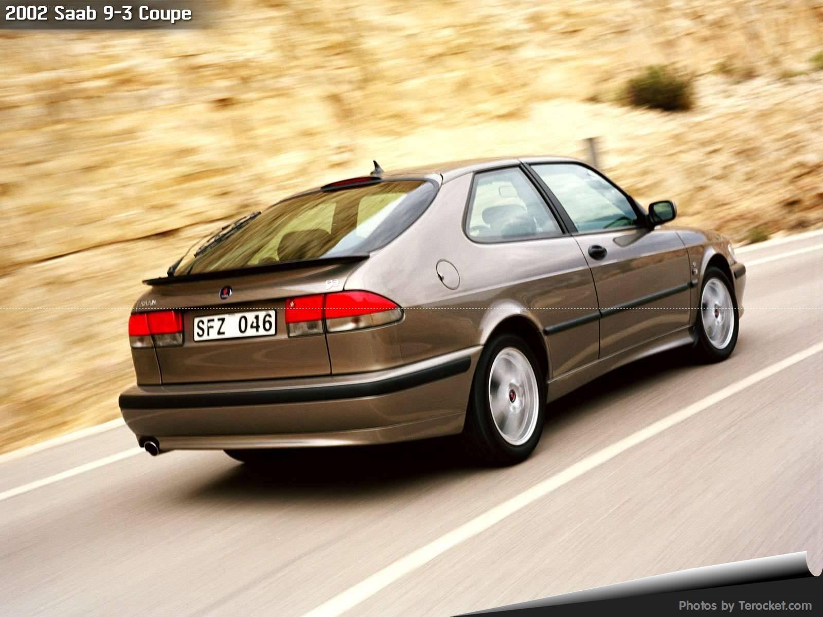 Hình ảnh xe ô tô Saab 9-3 Coupe 2002 & nội ngoại thất