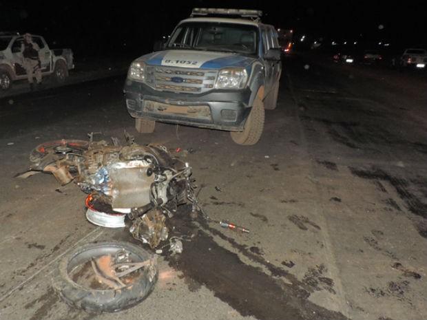 Acidente foi na região oeste da Bahia (Foto: Sigi Vilares/ Blog do Sigi Vilares)