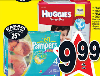 Les coupons rabais paquets de couches pampers et huggies 7 99 apr s coupon - Reduction couches pampers a imprimer ...