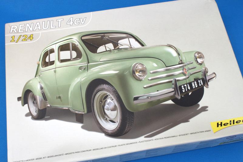 Master Models: Renault 4CV Heller 1/24 Inbox