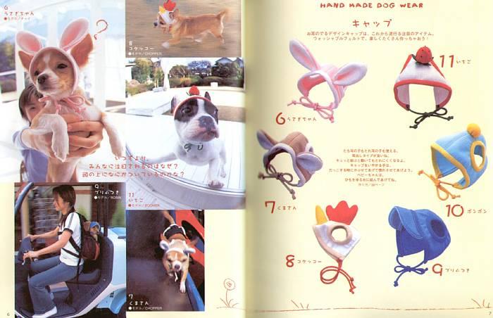 шапочка для собак своими руками