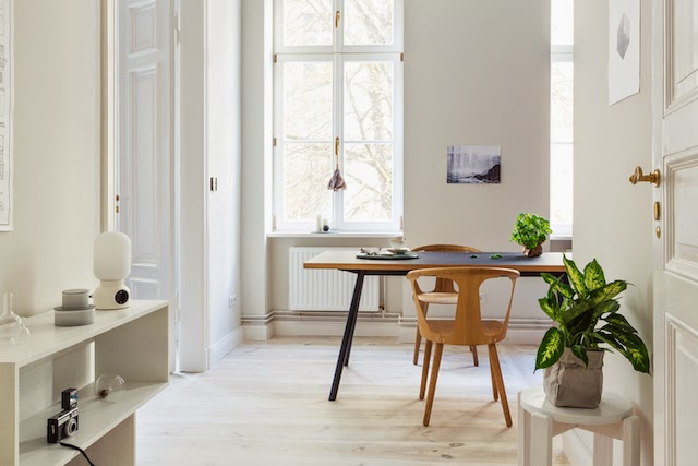Light and white space   Berlin Apartment Schönenberg by Fantastic Frank