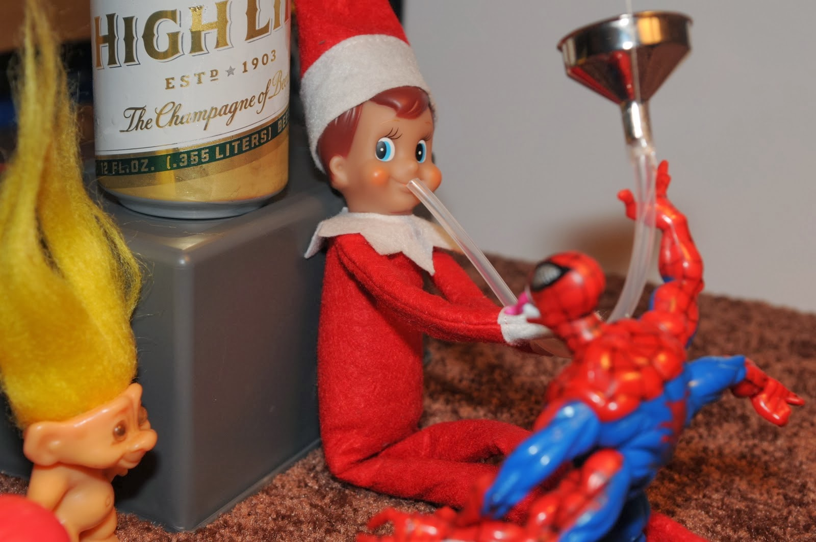 Dear perfect Elf on the Shelf people, an open