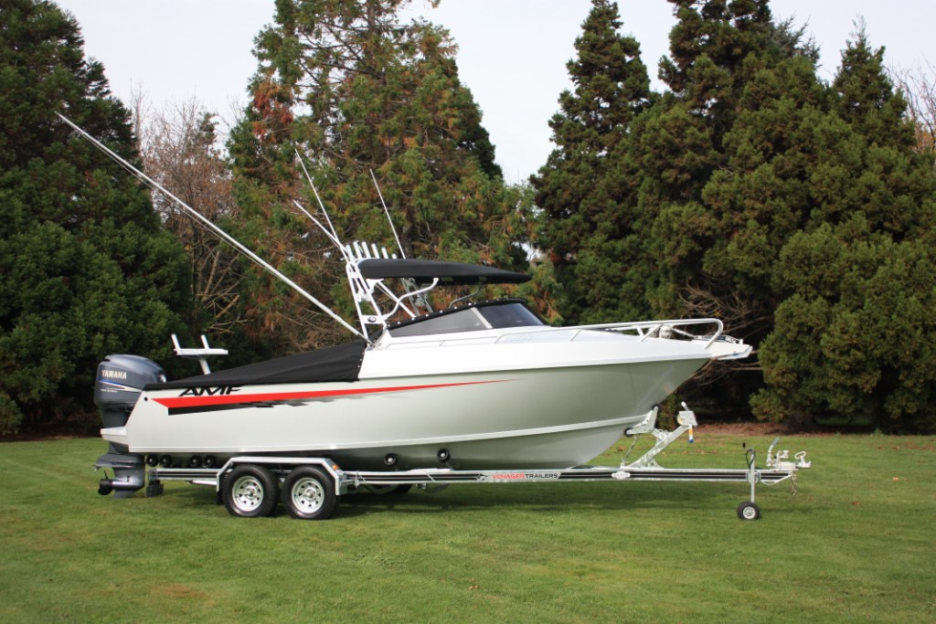 AMF Boats - Alloy Boat Builders: AMF 610 Vee Berth Cabin