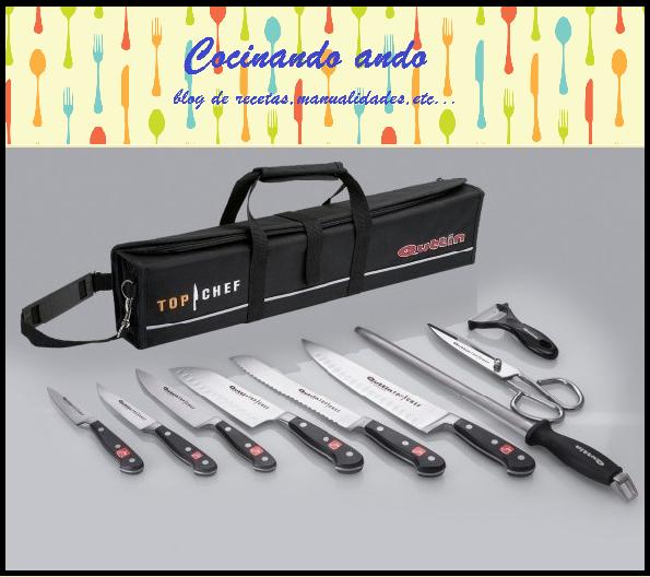 La manta de cuchillos de top chef manualidades - Manta para cuchillos ...