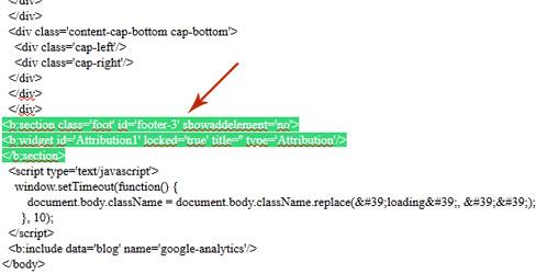 Оформление блога. Как настроить дизайн. Как установить свой копирайт в блоге на Blogger