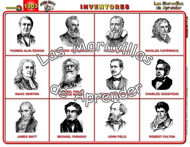 invenciones y sus creadores