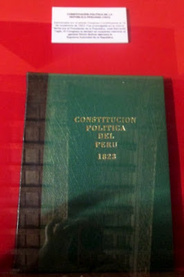 Constitucin Poltica del Per de 1823