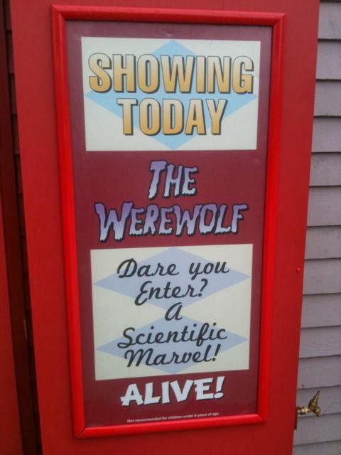 Butlins Bognor werewolf show