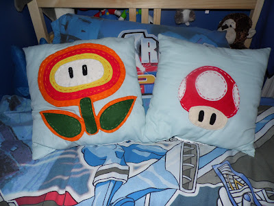 tutorial for super mario character pillows