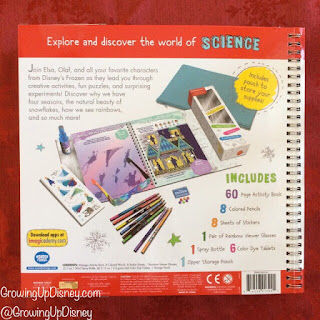 Disney Imagicademy activity book, Frozen gift