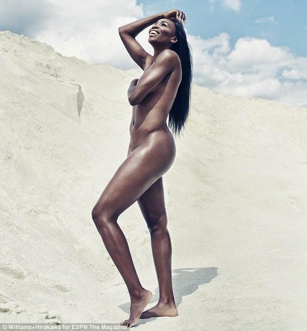Serena Williams and Sister, Venus Pose Nude for ESPN Magazine1