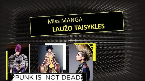 Loreal miss manga Punky tušas (anonsas)