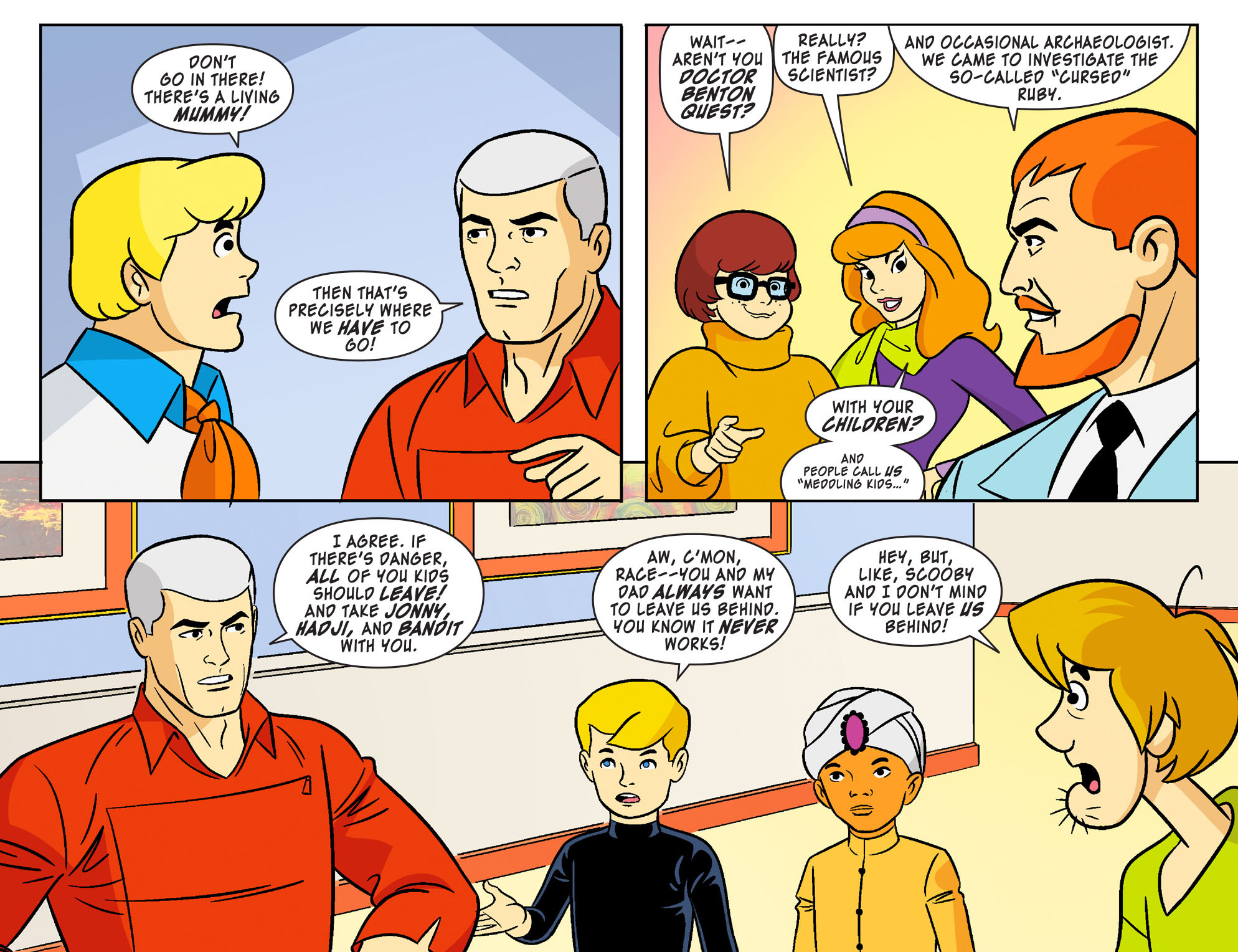 Read online Scooby-Doo! Team-Up comic -  Issue #19 - 7