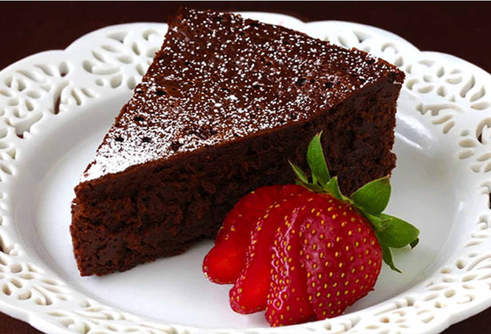 Savory Table: Flourless Chocolate Cake