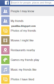 Fitur Facebook Graph Search