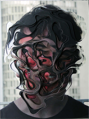 Brazilian artist Lucas Simoes makes interesting multilayered cut out portraits Seen On www.coolpicturegallery.us