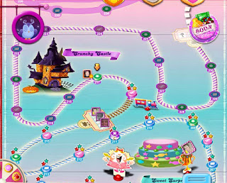 Candy Crush Halloween screenshot #