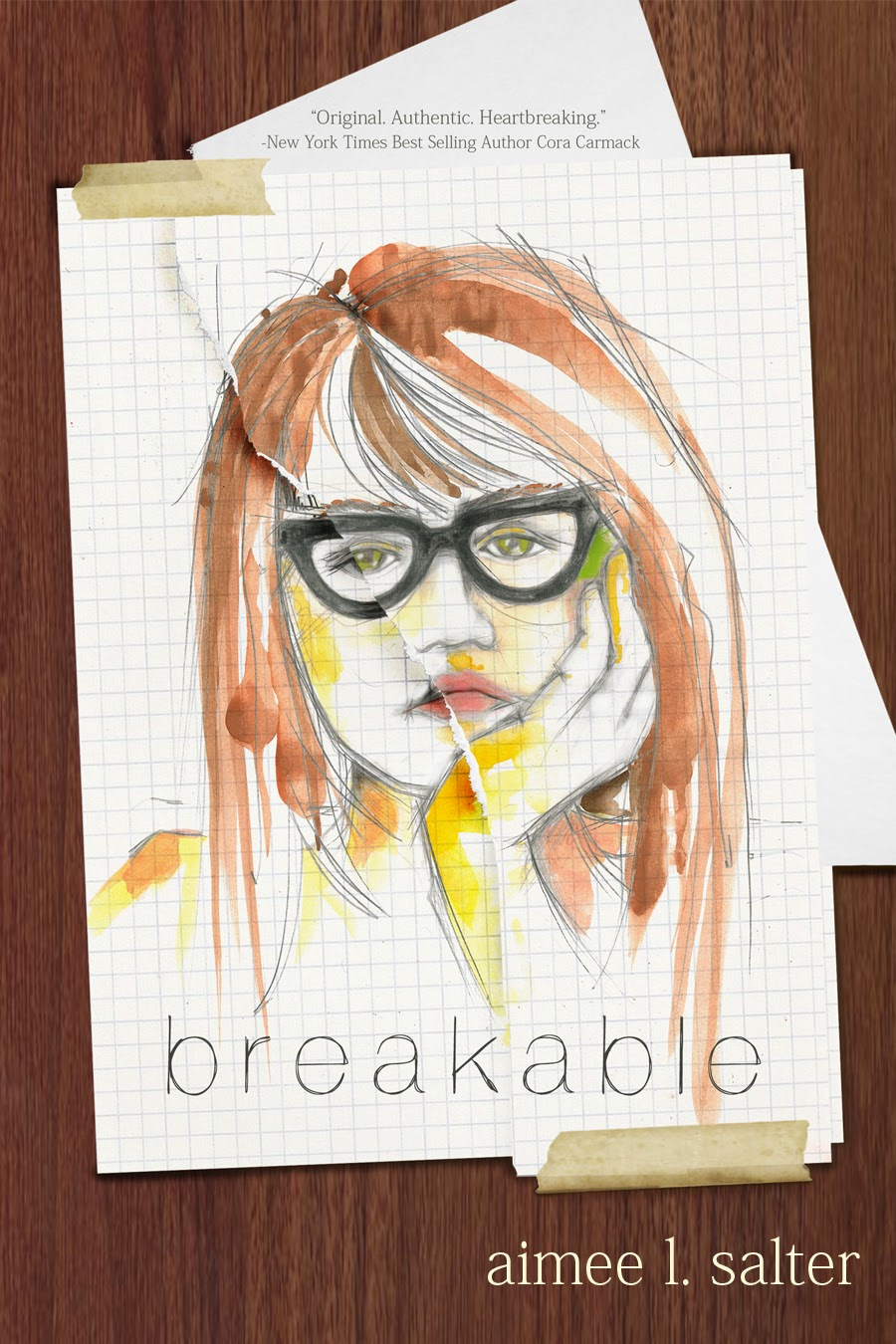 Cover Reveal ~ Breakable by Aimee L. Salter