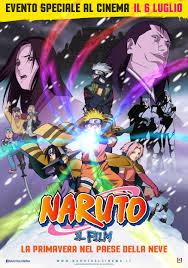 Al cinema dal 6 luglio 2015 Naruto il film