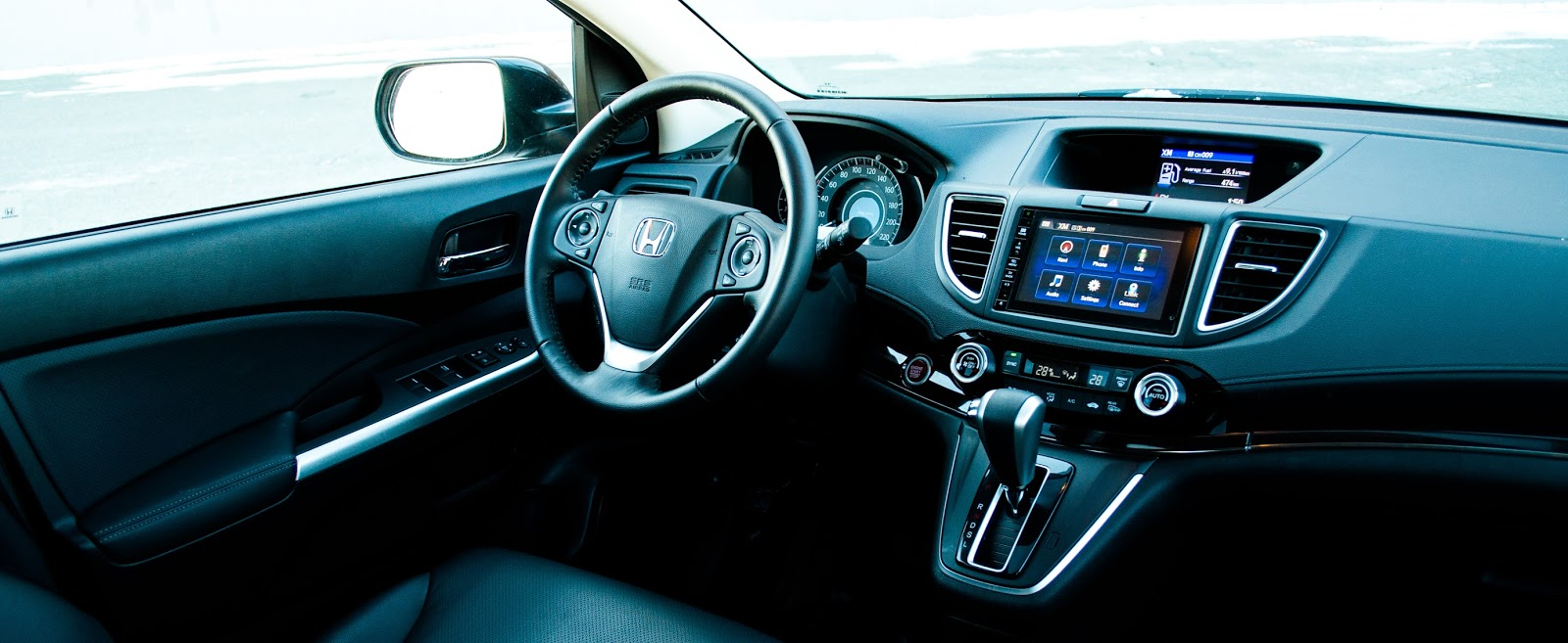 2015 Honda CR-V Touring interior