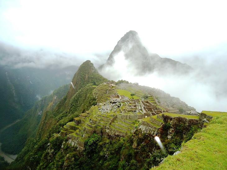Luzes em Machu Picchu