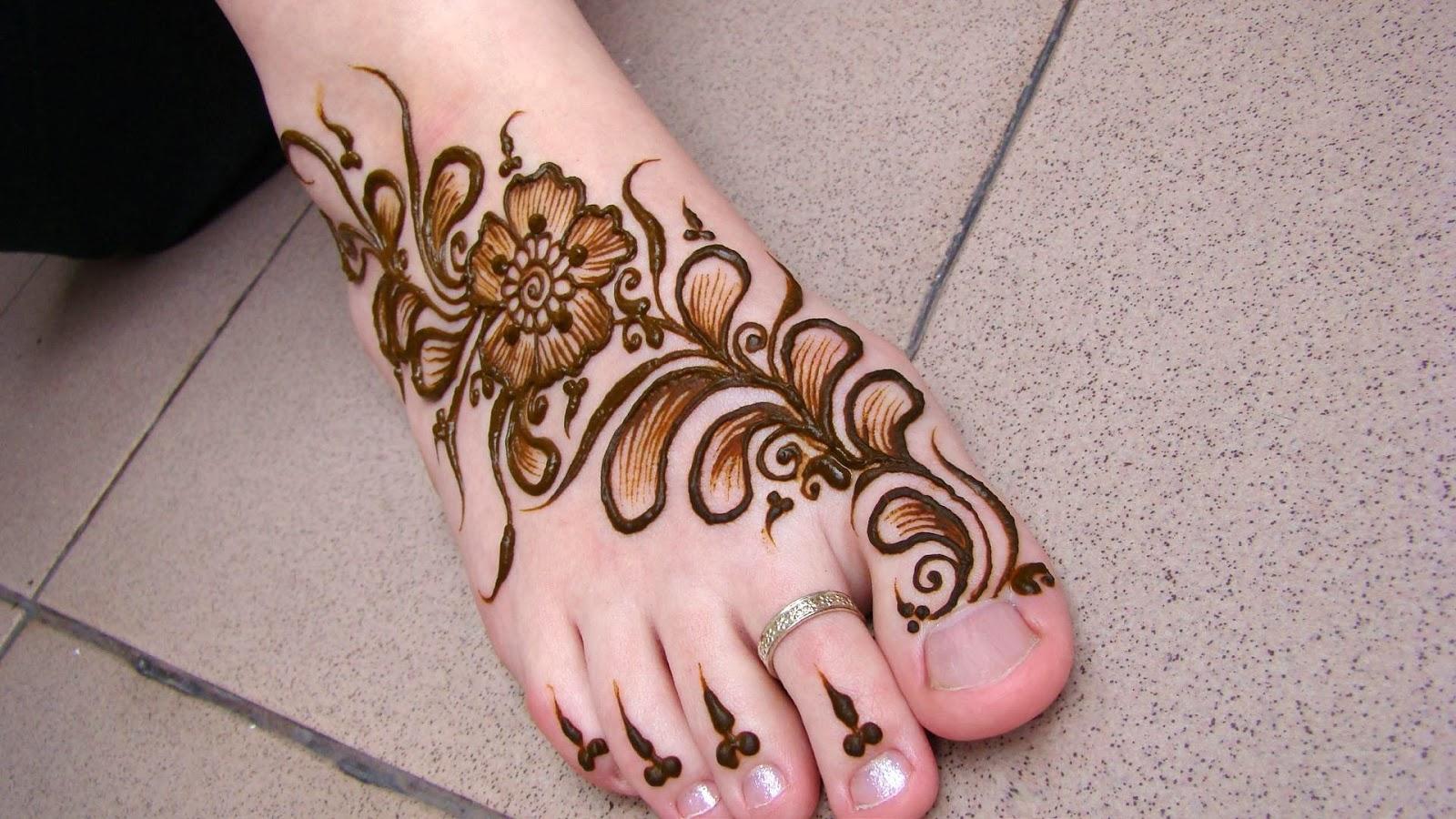 Mehandi Designs For Legs Mehandi Designs