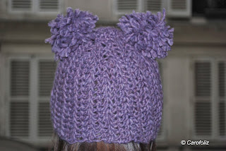 bonnet chouette kit crochet