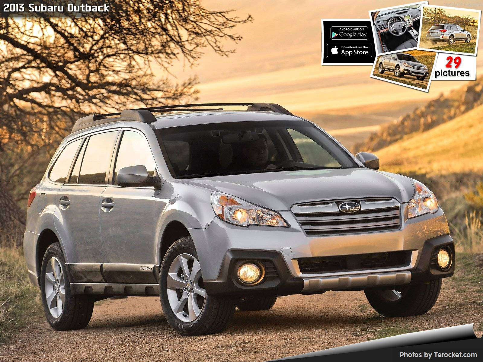 Hình ảnh xe ô tô Subaru Outback 2013 & nội ngoại thất