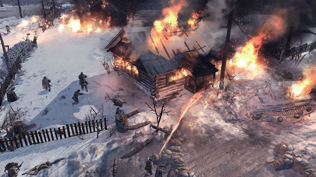 company of heroes 2 flamethrower