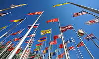 uluslararası, enternasyonal, ülke bayrakları