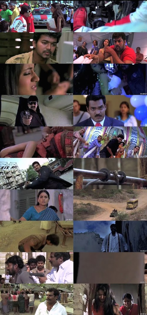 Kuruvi Hindi Dubbed BRRip 480p 400mb