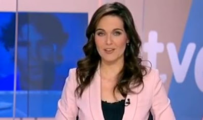 Raquel Martínez, con Rafa Nadal de fondo