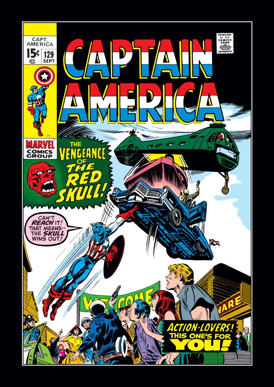 Captain America (1968) Issue #129 #43 - English 1