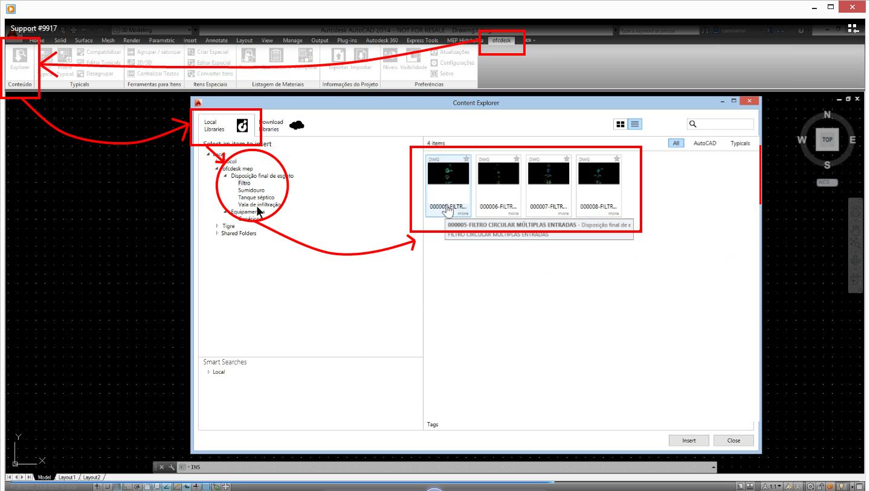 Imagens de #BA1111 Tire proveito das bibliotecas DWG de detalhamento para fossa filtro  1440x812 px 3432 Bloco Cad Banheiro Corte